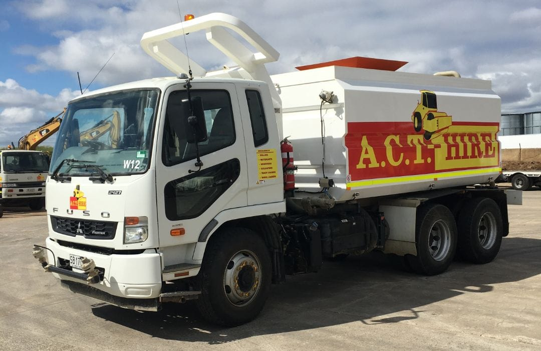 Fuso 14000 Litre Water Cart