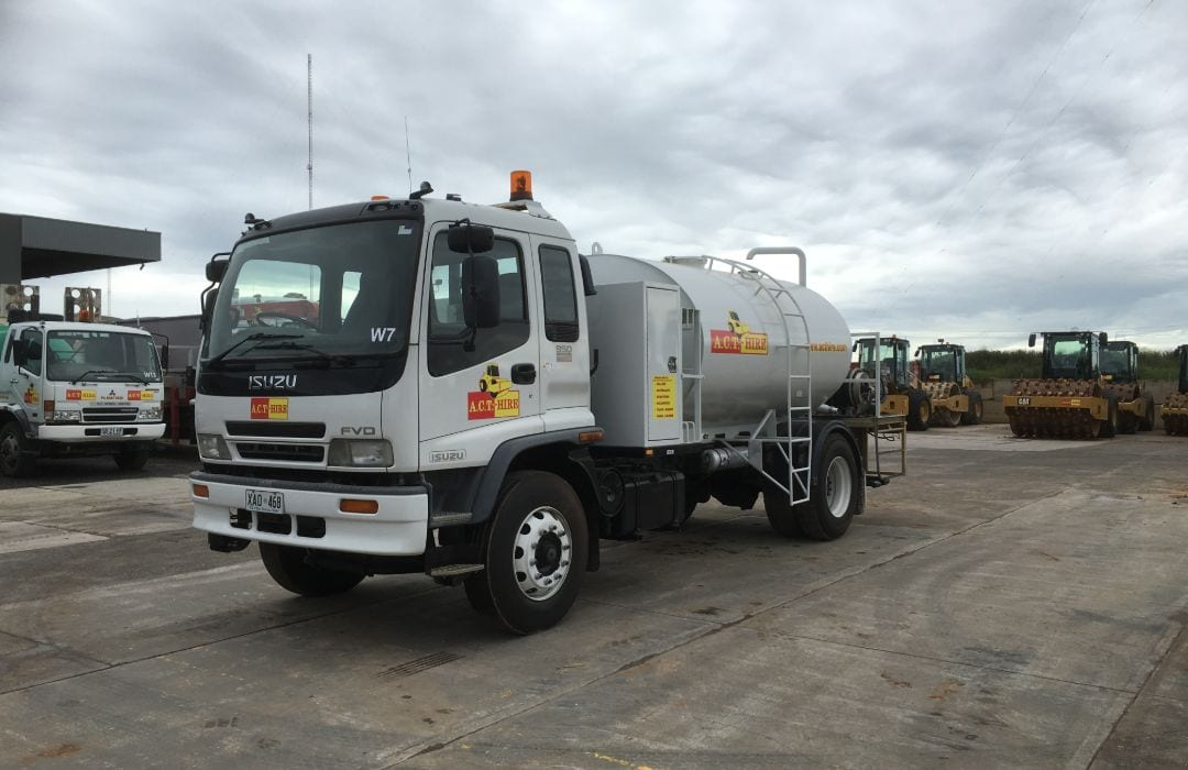 Isuzu 8000 Litre Water Cart
