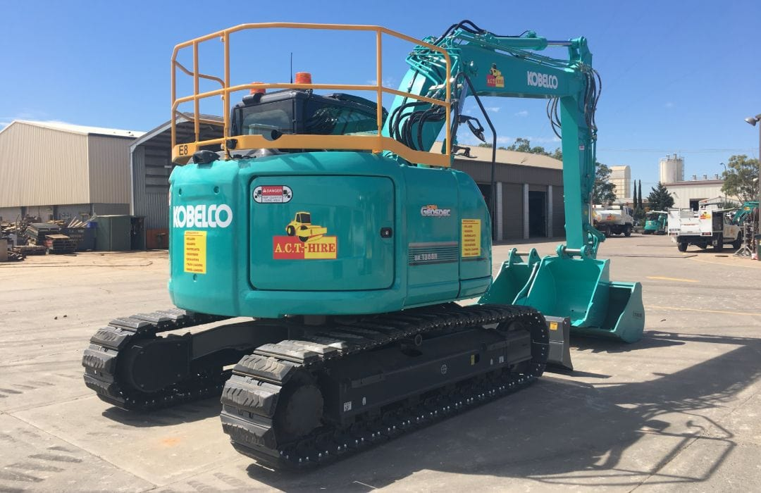 Kobelco SK135 R3 14 Tonne Excavator