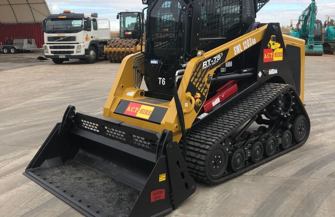 Terex RT 75 Track Skid Steer Loader