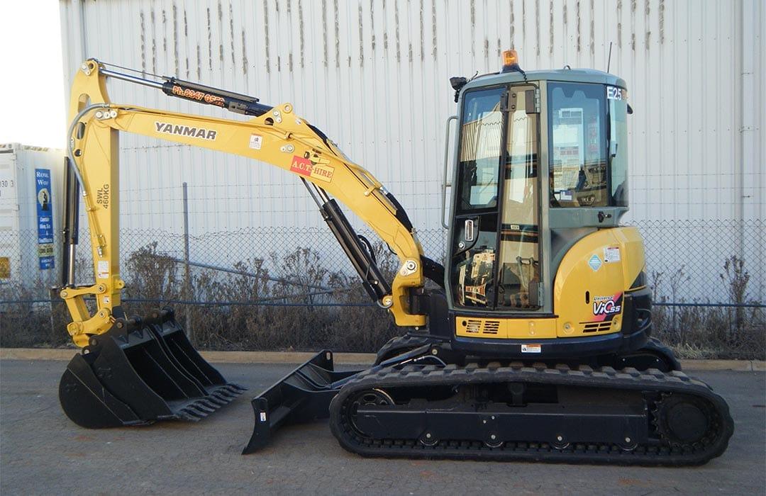 Yanmar ViO55-5B Excavator